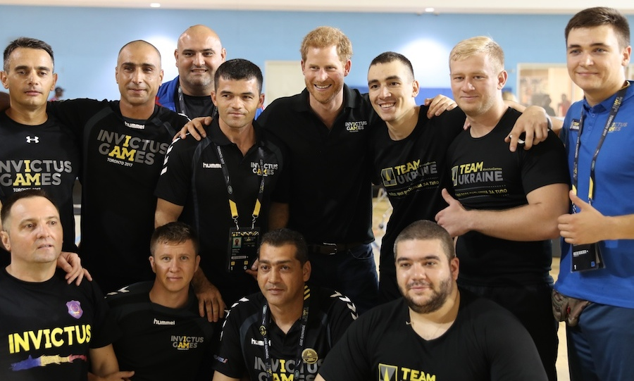 Team Romania is ready to compete!