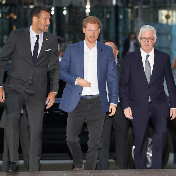 Ahead of the official kick off to the Invictus Games on Sept. 23, Prince Harry attended the True Patriot Love Symposium in downtown Toronto. 