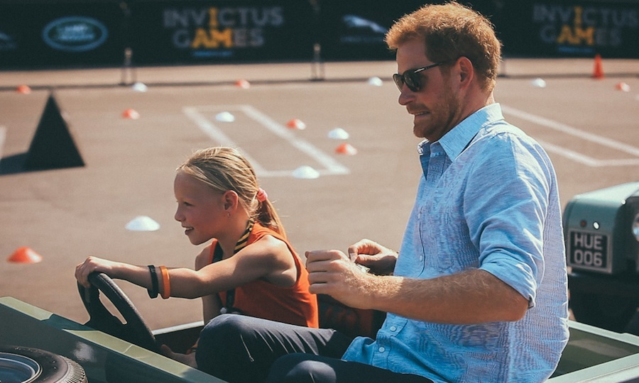 Hold on Prince Harry! 