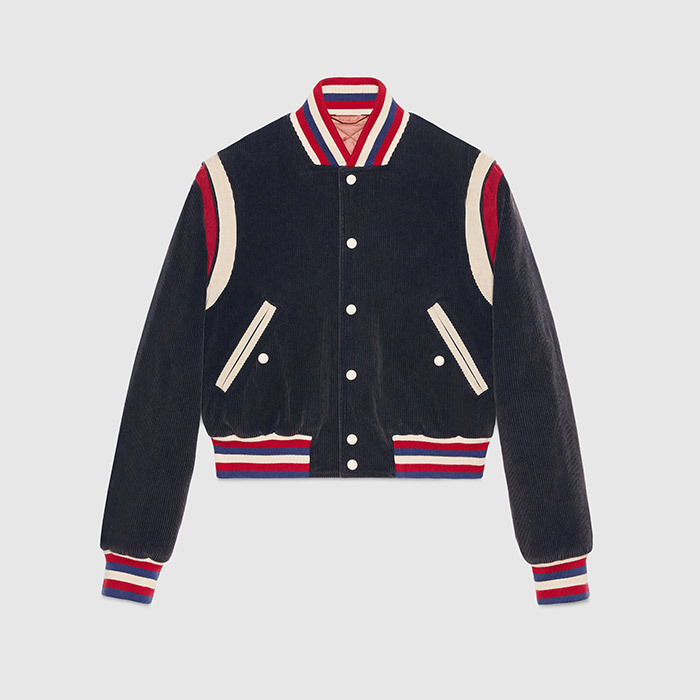 <p><strong>Embroidered corduroy jacket</strong>, $5,375, <em>gucci.com</em></p>