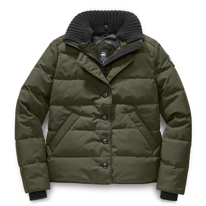 <p><strong>Canada Goose Brigette Jacket Black Label</strong>, $850, canadagoose.com</p>