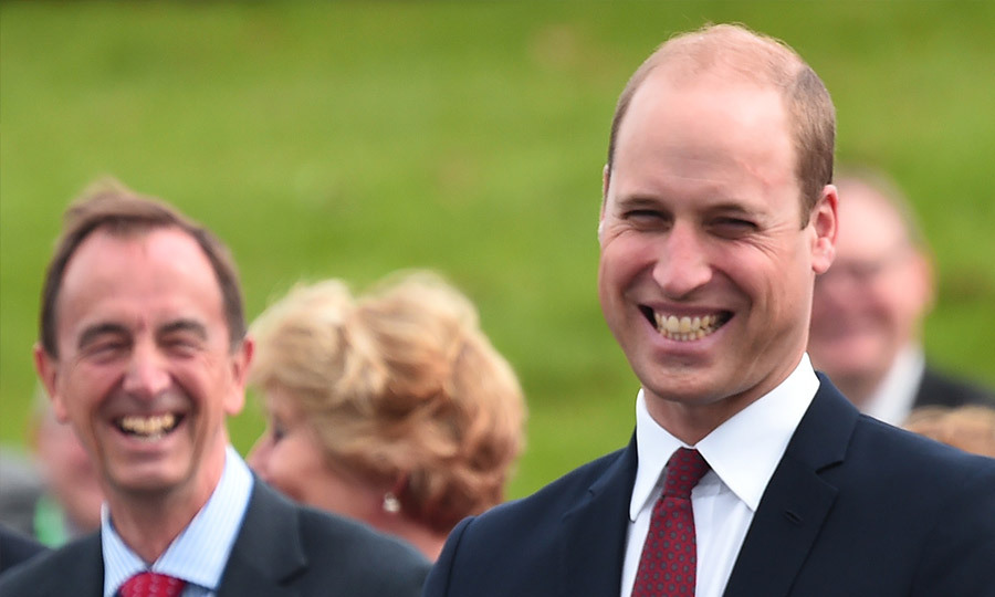 <p>Prince William quizzed about Prince Harry and Meghan Markle's engagement plans.</p>