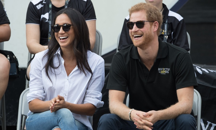 The moment royal watchers were waiting for happened on Monday afternoon when Prince Harry and his girlfriend Meghan Markle arrived hand-in-hand to watch wheelchair tennis at Nathan Phillips Square. The couple stayed for approximately 30 minutes and chatted with competitors before being whisked away by security. 