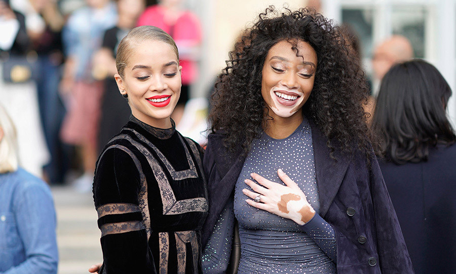 <p>J'adore Dior! Jasmine Sanders and Winnie Harlow also checked out the new collection. <br /><br />Photo: © Edward Berthelot/Getty Images for Dior</p>