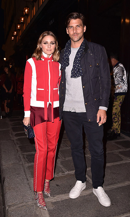 <p>Olivia Palermo and Johannes Huebl opted for sporty chic at the Valentino #ILoveSpike Cocktail at Paris Fashion Week.<br /><br />Photo: &copy; Jacopo Raule/Getty Images</p>