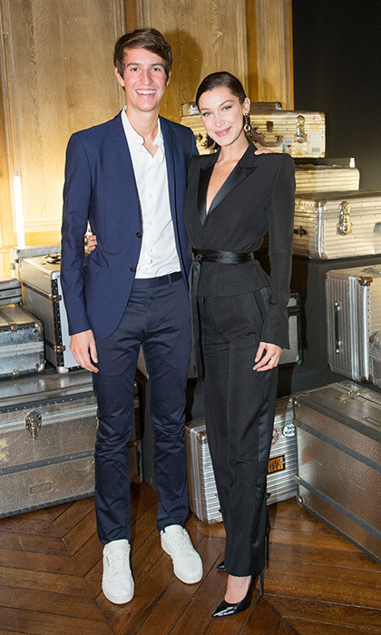 <p>CEO of Rimowa and LVMH heir Alexandre Arnault, 25, hosted a dinner with guests like Bella Hadid to celebrate the 80th Anniversary of Rimowa's iconic aluminium suitcase at Restaurant 1728 on September 26. <br /><br />Photo: &copy; Bertrand Rindoff Petroff/Getty Images for Rimowa</p>