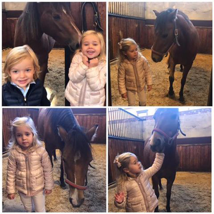"<p>Princess Leonore of Sweden had an adorable day foaling around with her horse Heidi. The three-year-old Duchess of Gotland paid a visit to her namesake island where she reunited with her foal.<br /><br />Princess Madeleine, who is expecting her third child, took to her personal Facebook account on September 21 to share four new photos of her daughter playing at a stable with her chocolate horse.<br /><br />Alongside the collage of photos, which includes one of Leonore receiving a kiss from her horse and another of her petting Heidi, Madeleine wrote, ""Leonore finally reunited with Heidi af Gotland!""<br /><br /><br />Leonore's younger brother Prince Nicolas, two, also joined in on the fun posing for a picture with his sister and her horse. Heidi was a christening gift to the little Princess. <br /><br />Photo: Facebook/@PrincessMadeleineOfSweden</p>"