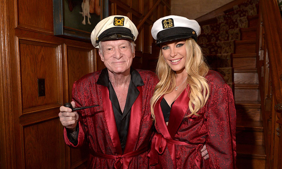 <p>Hugh Hefner is survived by his third wife, Crystal Harris. The couple married in 2012.</p>