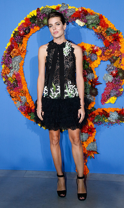 <p>Before heading to Fashion Week, Princess Grace's granddaughter Charlotte Casiraghi, wearing Giambattista Valli, attended the Opening Season Gala of the Paris National Ballet at Opera Garnier.</p>