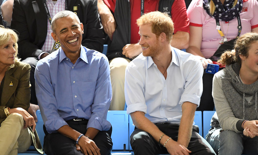 Prince Harry had some company at the wheelchair basketball qualifiers on Friday (Sept. 29). Former President Barack Obama and Former Vice President Joe Biden, along with his wife Dr. Jill Biden, dropped by the Pan Am Centre to catch a game. 