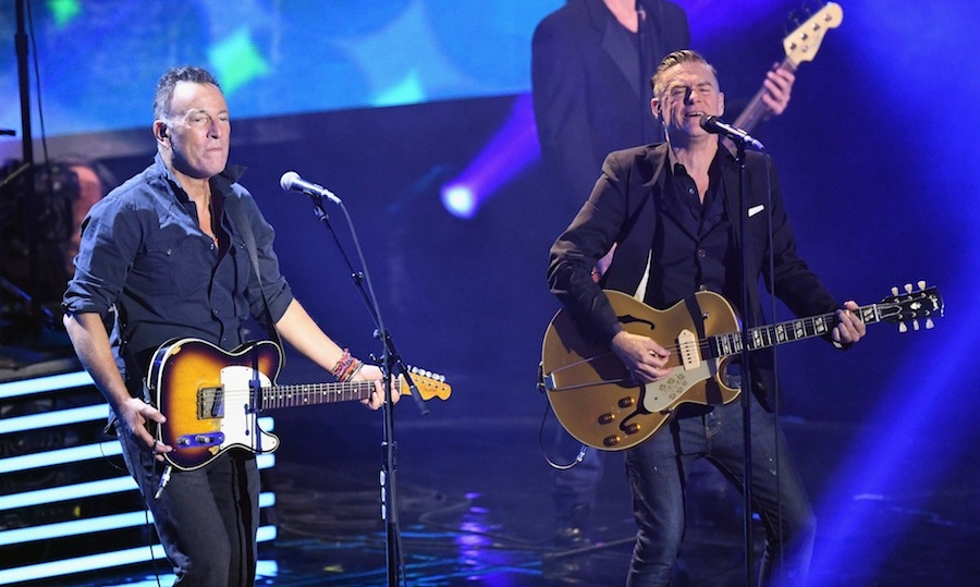 Bruce Springsteen and Bryan Adams performed a surprise duet during the show! 