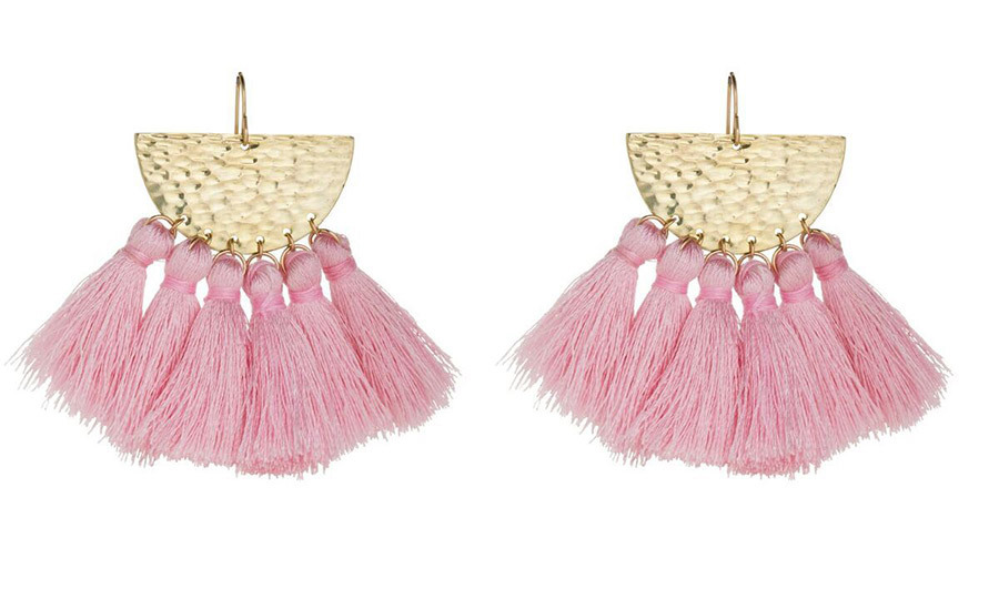 <p><strong>Sunrise Tassel Earrings</strong>, $185, <em>flacajewelry.com</em></p>