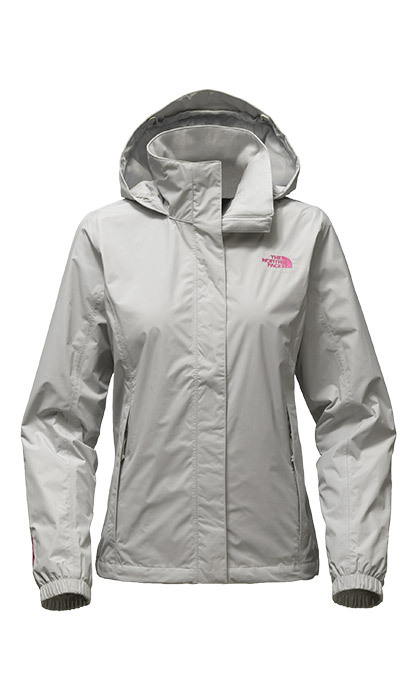 <p><strong>Women's Pink Ribbon Resolve Jacket</strong>, $110, <em>thenorthface.com</em></p>