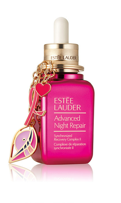 <p><strong>Estée Lauder Pink Ribbon Collection Advanced Night Repair</strong>, $110, <em>esteelauder.ca</em></p><hr><br><p><em>A favourite of celebrity makeup artists, this hyaluronic acid-rich serum gets a new limited-edition packaging with 20 per cent of proceeds benefitting Breast Cancer Research Foundation.</em> </p>