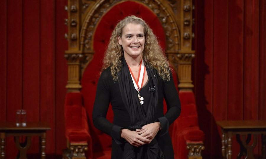 Julie Payette Sworn In As Governor General Of Canada
