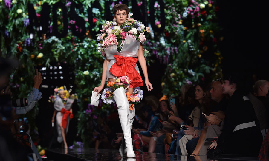 <p>Moschino<br /><br />Photo: Getty Images</p>