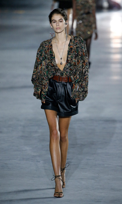 <p><strong>PARIS</strong><br /><br />Saint Laurent<br /><br />Photo: Getty Images</p>
