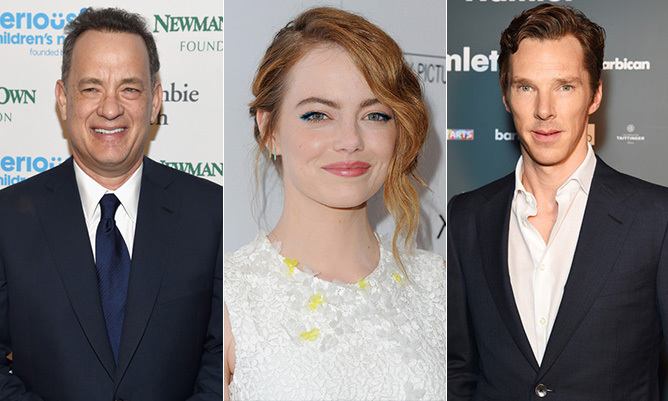 <p>Stars just love, love! Tom Hanks, Emma Stone and Benedict Cumberbatch are just a few celebs who have turned officiants to help their friends say 'I Do.'</p>