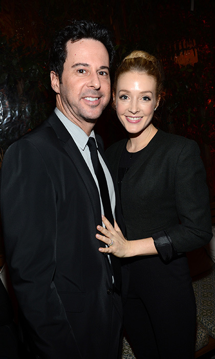<h2>Jennifer Finnigan and Jonathan Silverman</h2>