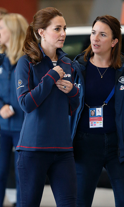 <p>Rebecca Deacon was responsible for briefing the Duchess of Cambridge at events.</p>