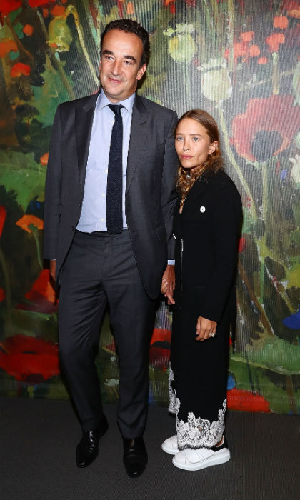 Mary Kate Olsen Steps Out In Style With Husband Olivier