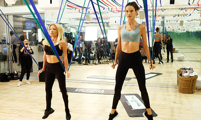 Alessandra Ambrosio also revealed that other than the Tracy Anderson method, she likes to do yoga and other outdoor activities with the family.