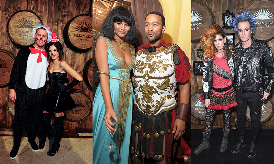 When Halloween rolls around the stars come out to play! Over the years, many of Hollywood's most loved-up duos approach the annual holiday as a team and have stepped out in some iconic couple costumes. 