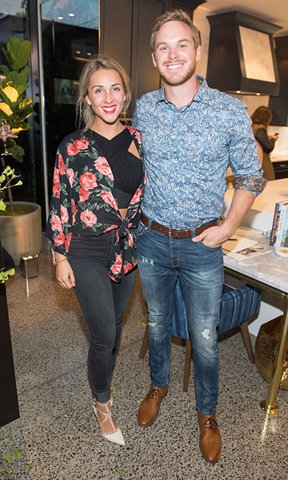 <p>Monogram X Sarah Richardson Party</p>