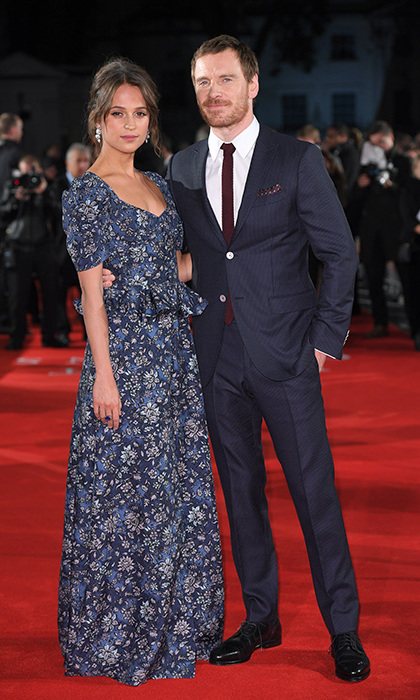 <h3>Alicia Vikander and Michael Fassbender</h3>