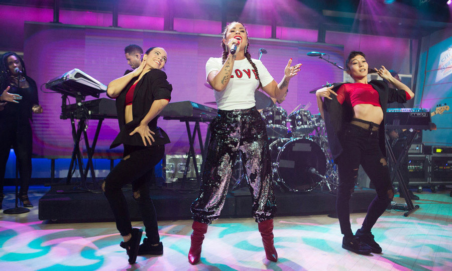 <p>Love is the key! Demi Lovato took the stage during NBC's <em>Today</em> and performed some of her biggest hits off her latest album <em>Tell Me You Love Me</em>. The singer also talked about her upcoming documentary <em>Simply Complicated</em>.<br /><br />Photo: Nathan Congleton/NBC</p>