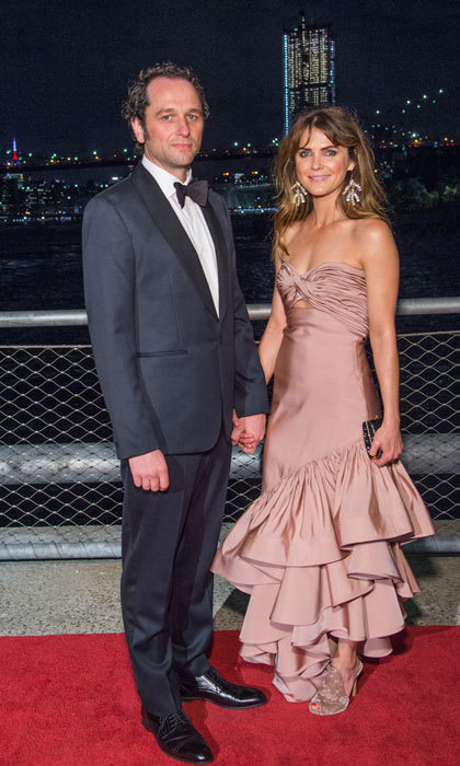 <p>Kerri Russell, who wore a blush gown by Johanna Ortiz, stepped out for date night with her leading man and <em>The Americans</em> co-star Matthew Rhys for the 2017 Brooklyn Bridge Park Conservancy Brooklyn Black Tie Ball on October 5.<br /><br />Photo: Mark Sagliocco/Getty Images</p>