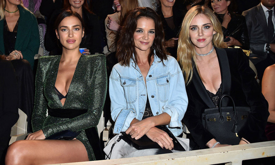 <p>Irina Shayk, Katie Holmes and Chiara Ferragni certainly were living la dolce vita in Verona, Italy. The trio visited the romantic city for the A Legend Of Beauty - Intimissimi on Ice on October 6. The night consisted of ice skaters performing alongside opera singers including Andrea Bocelli. <br /><br />Photo: Getty Images</p>