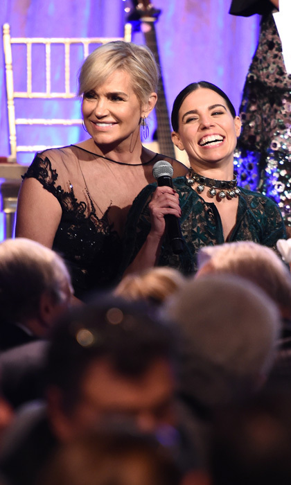 "<p>Yolanda Hadid and Ally Hilfiger were all smiles during the Global Lyme Alliance's third annual New York City gala. Yolanda, who has suffered with the illness, opened up to HELLO! about finally feeling like herself. ""I feel amazing. I feel really great,"" she shared. ""I haven't felt this good in six years. so it's actually the first time I'm at this event feeling somewhat normal and not wanting to you know run home the minute I got here so it's good. I'm here I want to have a good time and happy to here.""<br /><br />Photo: Dimitrios Kambouris/Getty Images for Global Lyme Alliance</p>"