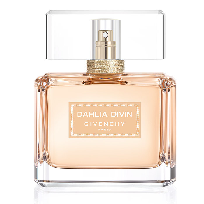 <p>With sambac jasmine, apricot and white musk, the scent is the olfactive equivalent of a cozy cashmere sweater. <strong>Givenchy Dahlia Divin Nude Eau de Parfum</strong>, $131 for 75 ml, Sephora, <em>sephora.ca</em></p>