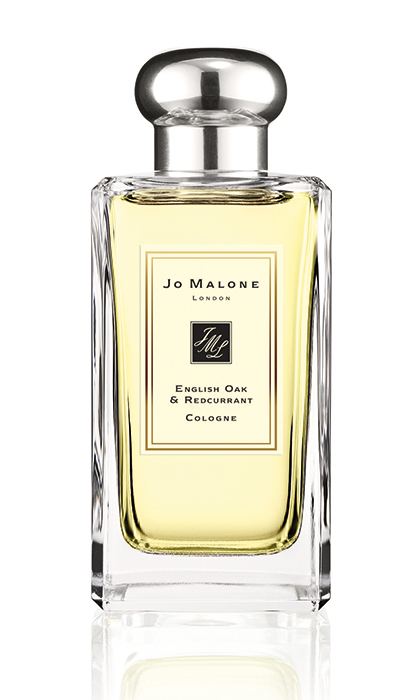 <p>Warm roasted oak and juicy redcurrant envelope rose to make a seasonally appropriate fruity floral. <strong>Jo Malone English Oak & Redcurrant Cologne</strong>, $175 for 100 ml, <em>jomalone.ca</em></p>
