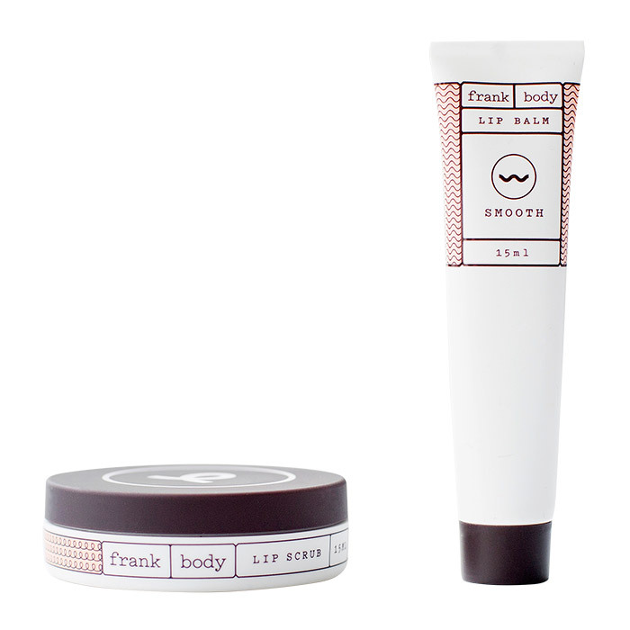 <p><strong>Frank Body Lip Scrub and Lip Balm Duo</strong>, $16.95</p>
