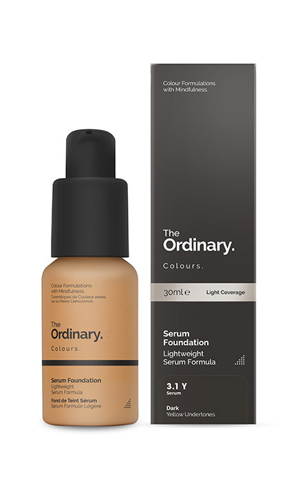 <p><strong>The Ordinary Colours Serum Foundation</strong>, $6.70</p>