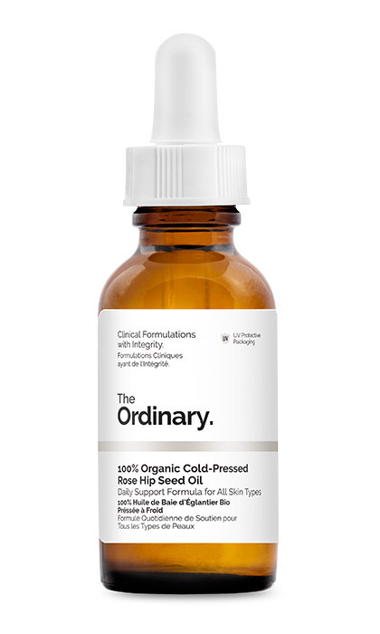 <p><strong>The Ordinary 100% Organic Cold-Pressed Rose Hip Seed Oil</strong>, $9.90</p>