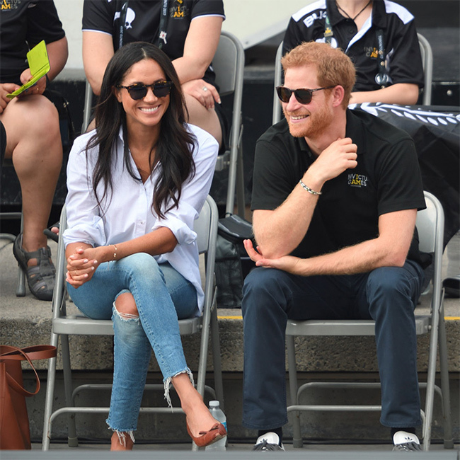 <p>Prince Harry and his girlfriend Meghan Markle make joint appearance at the Invictus Games in Toronto, Canada.</p>