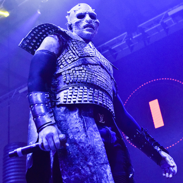 <p>Jason Derulo looked unrecognizable as the Night King from <em>Game of Thrones</em> at MAXIM's annual Halloween bash.</p>