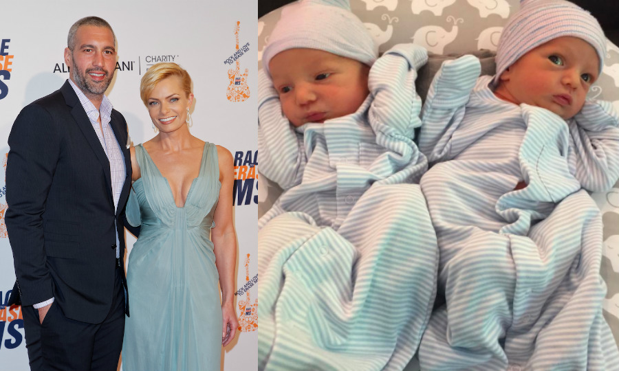 <h2>Jaime Pressly and Hamzi Hijazi</h2>