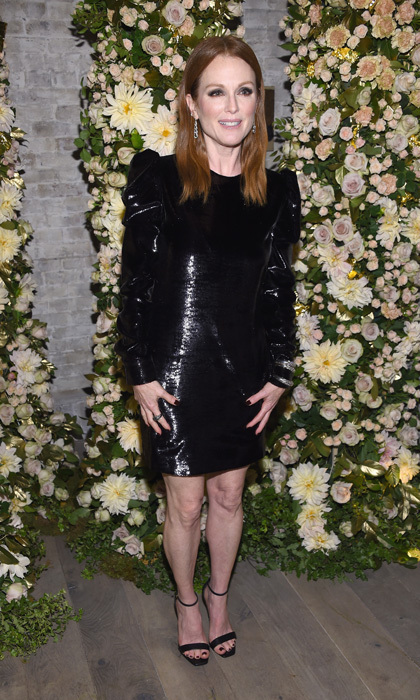Julianne Moore was the lady of the hour at a dinner at Le Coucou in NYC. The evening was thrown by John Hardy to celebrate the actress and their new Made for Legends campaign.