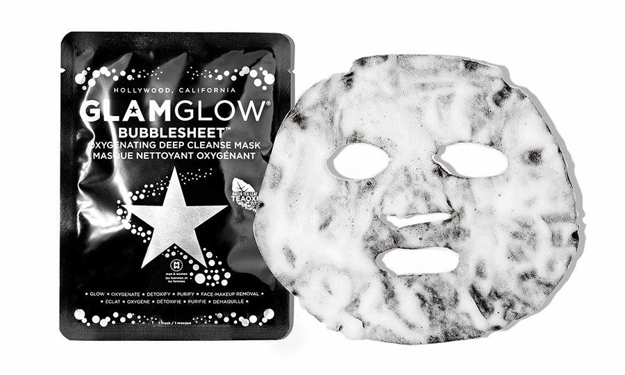 <p><strong>GlamGlow BubbleSheet Oxygenating Deep Cleanse Mask</strong>, $12, <em>sephora.ca</em></p>
