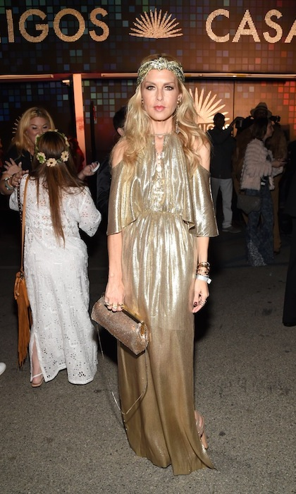 Golden goddess Rachel Zoe.