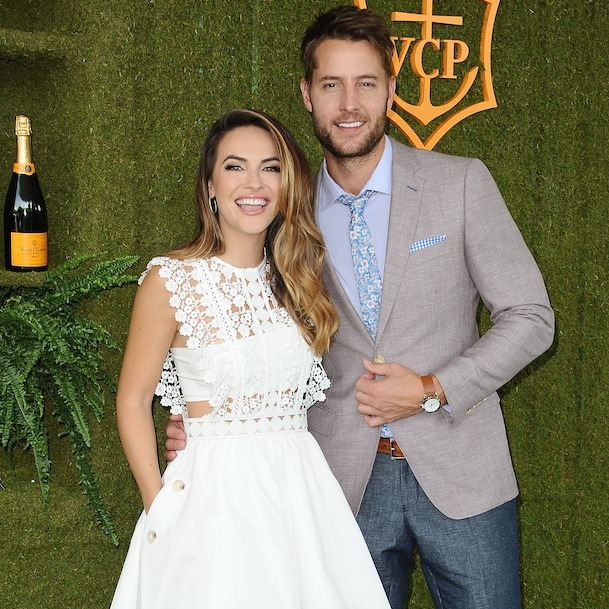 <h3>Justin Hartley and Chrishell Stause</h3>