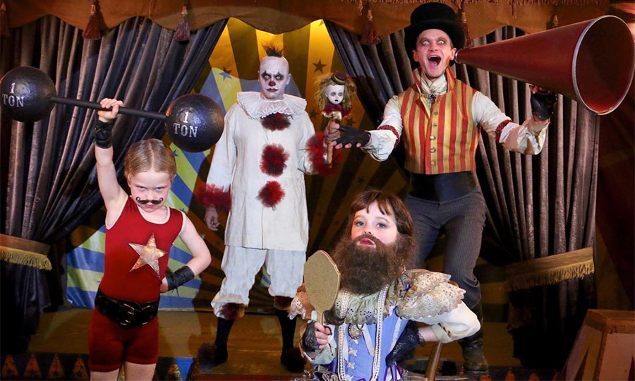 <p>Neil Patrick Harris and his family always have one of the best family costumes every Halloween! This year, the family of four dressed up as an old-school circus troupe.</p>