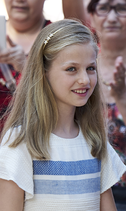 First in line to the Spanish throne, Princess Leonor was born on October 31, 2005 at the Ruber International Clinic in Madrid. The future queen is the first child of King Felipe VI and Queen Letizia, a former TV news anchor who married the then-Crown Prince in 2004. 
