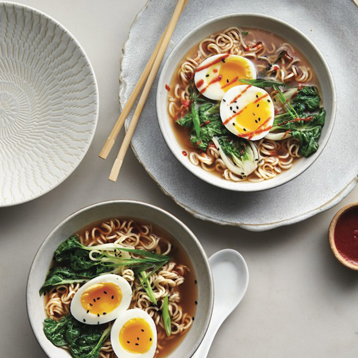 <h4>Gingery ramen with eggs</h4>