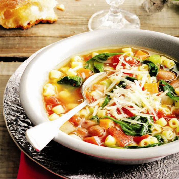 <h4>Easy minestrone soup</h4>