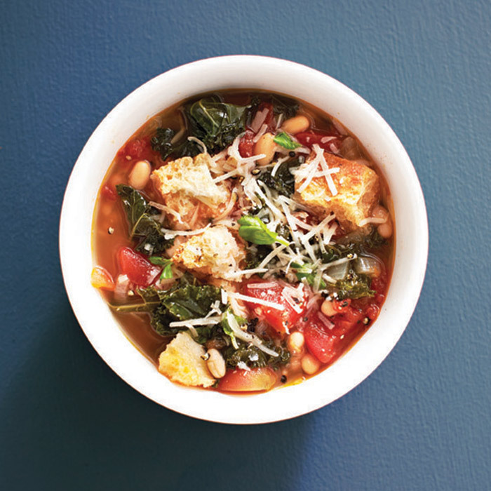 <h4>Hearty Tuscan soup</h4>